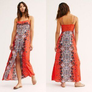 Free People Morning Song Boho Maxi Dress XS NWT